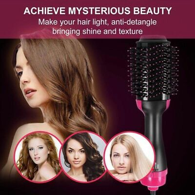 4 in 1 Revlon Pro Salon One-Step Hair Dryer and Volumizer Oval Brush Design AU