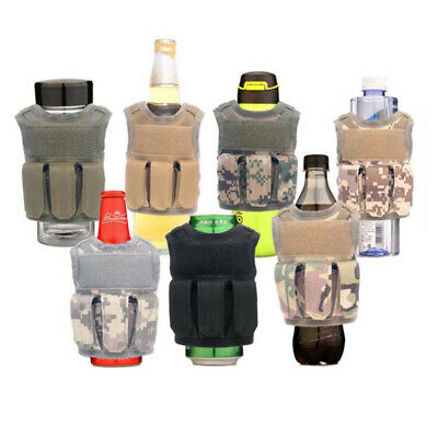 Tactical Premium Beer Military Molle Mini Miniature Hunting Vests Beverage FT