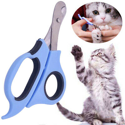 Pet Cat Dog Nail Clippers Trimmers Toe Paw Claw Grooming Cutter Scissors Safety