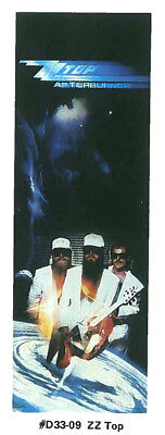 "ZZ TOP Afterburner Large Vintage Original Door Size Poster Mint- NEW 26"" x 76"""