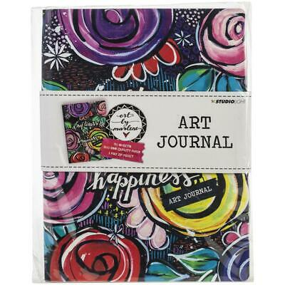 Studio Light Art By Marlene 3.0 Art Journal A4 - 30 Sheets W/Zip Pocket