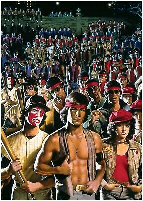 The Warriors Classic Movie Large Poster Art Print Maxi A1 A2 A3 A4
