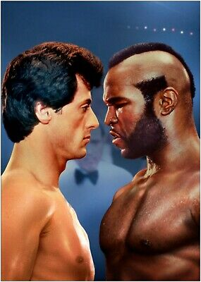 Rocky III Classic Movie Large Poster Art Print Maxi A1 A2 A3