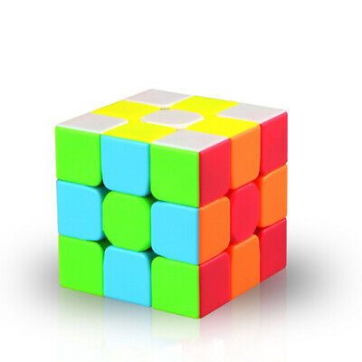 QiYi Warrior Magic Cube 3x3x3 Puzzle Twsity Game Bright Stickerless Toys Gift