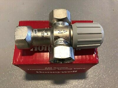 "Honeywell AM-1 Series Thermostatic Mixing valve AM102-1 1"" NPT"