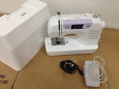 Brother BC2100 computerised sewing machine with lid - Good condition