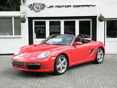 2007 Porsche Boxster 2.7 Manual Guards Red Huge Spec only 59000 Miles!