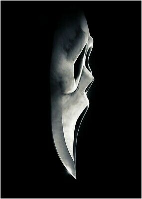 A0 A1 A2 A3 A4 Skull Scary Halloween Large Poster Wall Art Print