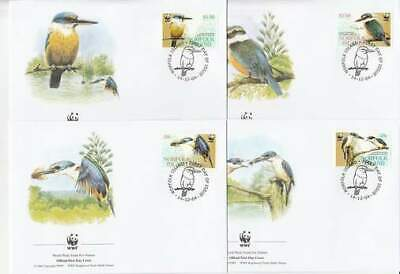 WWF 4 x FDC Norfolk Island 2004 - Vogels / Birds (290)