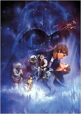 Star Wars Empire Strikes Back Classic Movie Large Poster Art Print Maxi A1 A2 A3