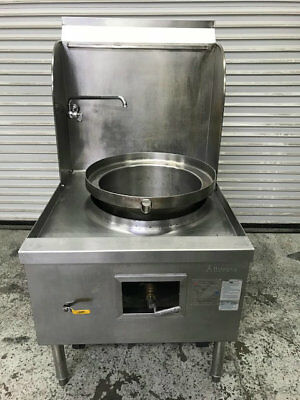 Wok Range Stove 1 Hole Gas Burner Allstrong ARE-1 #8801 Commercial Stainless NSF