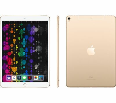 "APPLE 10.5"" iPad Pro Cellular - 64 GB, Gold (2017) - Currys"