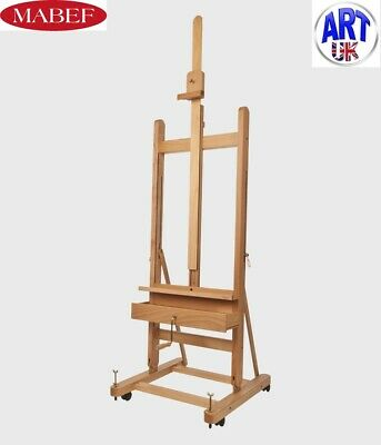 Mabef Professional Artists Beech Wood Small with Crank Studio Easel -M/05