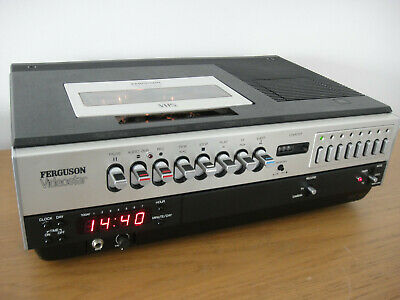 Ferguson Videostar 3V22 Vintage VHS Recorder - Reconditioned - New Heads Fitted