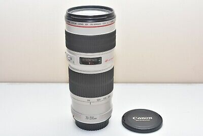 Used Canon EF 70-200mm f/4 L USM Telezoom Lens Non IS 2578A002 Model