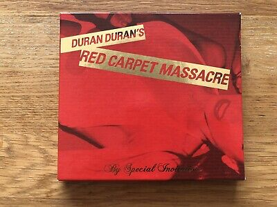 Duran Duran Red Carpet Massacre by special invitation CD box set with booklets