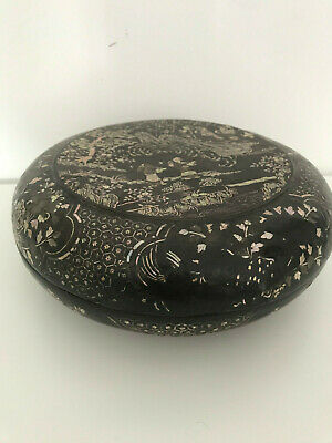 Chinese lacquer box, 17th Century (Qing dynasty)
