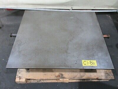 "BROWN & SHARPE 30"" x 36"" Cast Iron Surface Fixture Layout Plate for Metalworking"