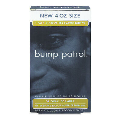 Bump Patrol Aftershave Ingrown Hair And Razor Burns Treatment (4 oz) - NEW OTHER