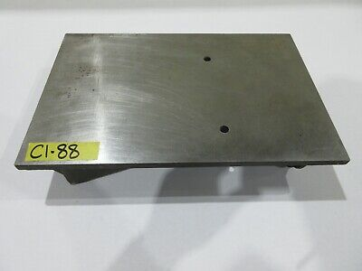 "Challenge 10"" x 15-1/4"" Cast Iron Fixture Layout Plate for Metalworking"