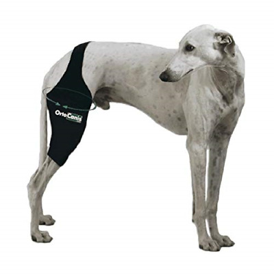 OrtoCanis Knee brace for dog - thigh contour 8.25'' - 9.44'' - left leg