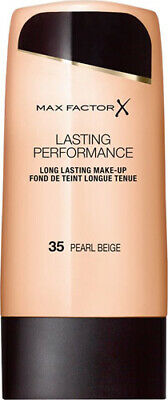 Max Factor Lasting Performance Touch-Proof Foundation035 Pearl Beige FREE POST
