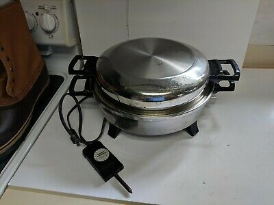 REGAL WARE KITCHEN NUTRITION  STAINLESS FULLY  ELECTRIC SKILLET k7271