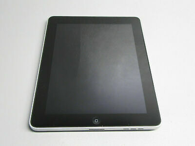 """Apple iPad A1219 Black 1st Generation 9.7"""" 16GB Touchscreen Wi-Fi Tablet TESTED"""