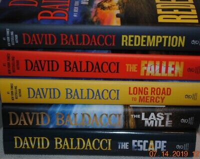Lot of 7 David Baldacci novels 7 Hard cover/dust jacket. All books are 1st ed