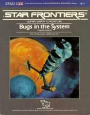 TSR Star Frontiers Alpha Dawn - Bugs in the System SC EX