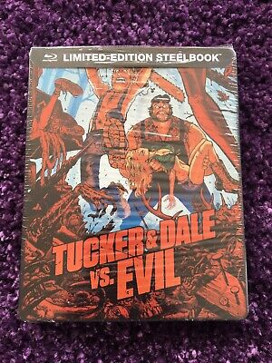 Tucker and Dale vs Evil Limited Edition Steelbook (Blu-Ray) BRAND NEW!