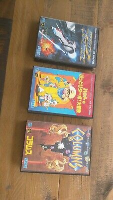 LOT OF 3 - Sega Genesis Mega Drive Japan Games Wholesale Whip Rush Magical Hat