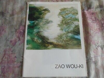 Rare Exhibition Catalog of Paintings by Great Chinese Artist ZAO WOU-KI 1969
