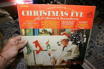 Christmas With Colonel Sanders 1969 Lp Rca Kentucky Fried Chicken Kfc Vinyl Exc 14 25 Picclick