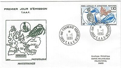 Taaf French Southern and Antarctic Territories FSAT Stamp Sc 191 FDC 1990