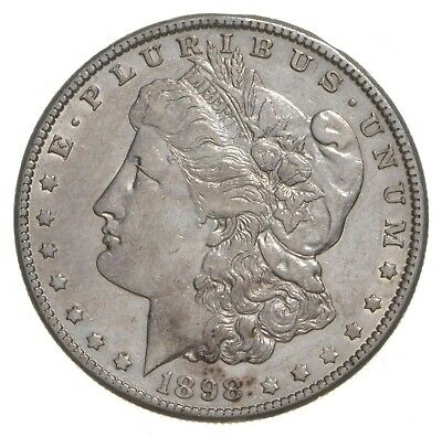 W@W Early 1898-O Morgan Silver Dollar - 90% US Coin - Nice Coin *010