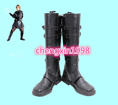 NEW Star Wars Anakin Skywalker cosplay shoes costomize AA.106