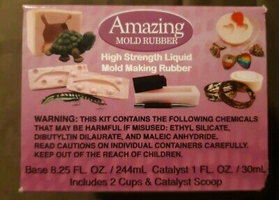 AMAZING MOLD RUBBER High Strength Liquid  Mold Making  Rubber