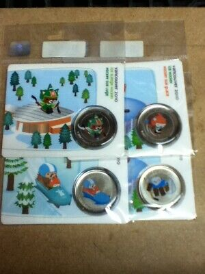 Canada - 50 Cents - 2010 - Sealed from Mint - BU - Vancouver - 4 Coins