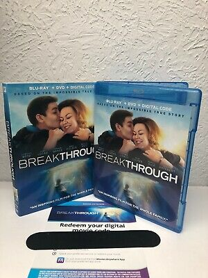 BREAKTHROUGH 2019 Blu Ray + Digital HD (NO DVD INCLUDED) Please Read!!