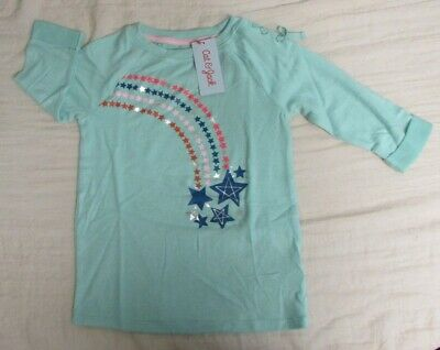 cat and jack girls fiji teal pull over size M 7//8