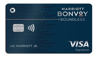 Marriott Bonvoy Boundless Chase Credit card (3 FREE NIGHTS + $50 FROM ME)