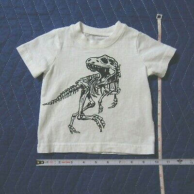 CARTER'S 3 month old baby DINOSAUR shirt great condition fast shipping