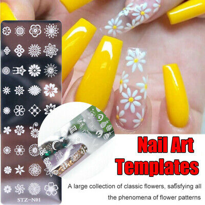 Nail Art Stamping Image Plates Stamp Metal Template Manicure Tips Supply DIY