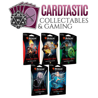Magic the Gathering TCG Core Set 2020 Theme Booster Set of 5