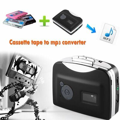 EzCap230 Cassette Tape to MP3 Converter Conversion Player Plug and Play MT