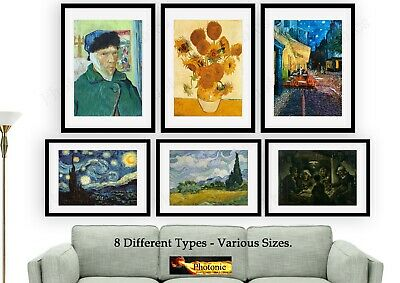 Vincent Van Gogh Reproduction Photo Poster Picture Print ONLY Size A4 A3 Prints