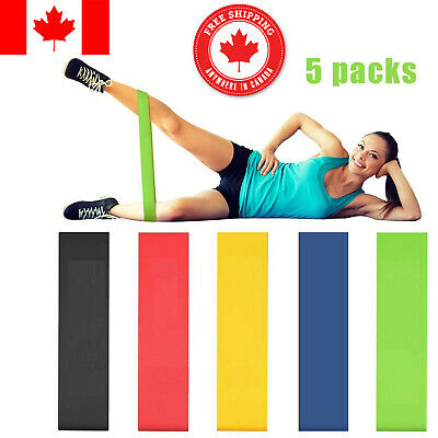 Resistance Loop Bands Gym Exercise Fitness Resistance Latex Stretch Resist Bands