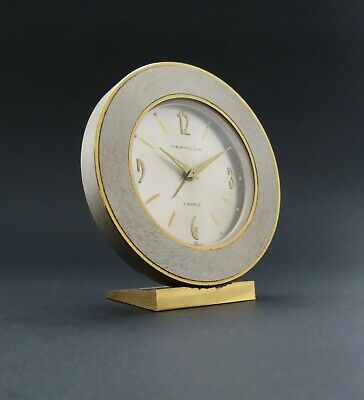Elegant Quality German Made Westclox Modernist Mechanical Alarm Clock. c.1960