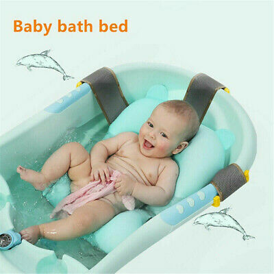Bath Pad Non-Slip Bathtub Mat NewBorn Baby Safety Security Bath Seat Support